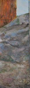 Hiding. Annica Delfos (31 x 72 cm)
