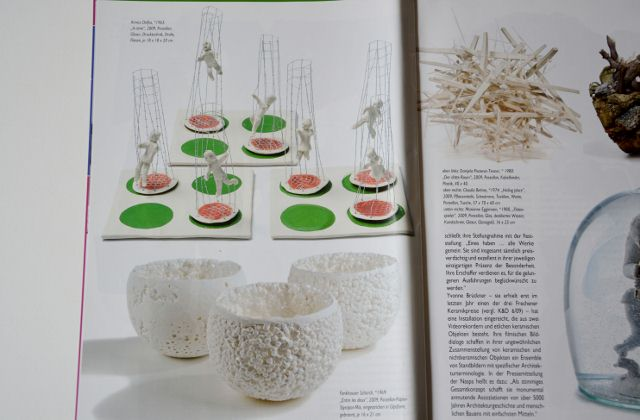 Nice photo's in the German magazine Kunsthandwerk
