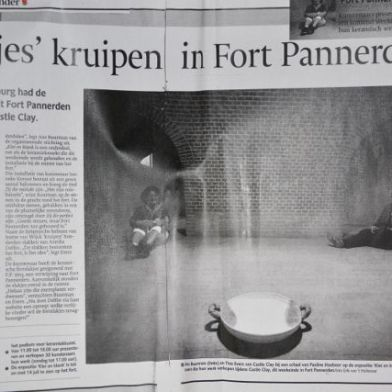 Newspaper. The Netherlands. The Army of Inside Out. Annica Delfos