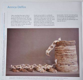 Dutch Ceramic Bienalle. The Netherlands. Once Upon a Time. Annica Delfos