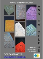 Sijthoff opening . Watch and See. Annica Delfos