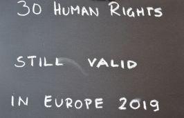 30 Human Rights still valid in Europe 2019