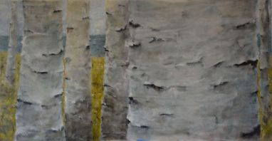 In Search. Annica Delfos +/-50 x 100 cm oilpainting