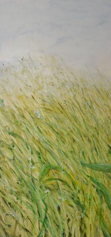 Make Way. Annica Delfos. 115 x 55 cm. Oilpaint on canvas
