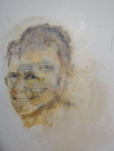 Life. Annica Delfos. 25 x 35 cm. Oil paint on canvas.