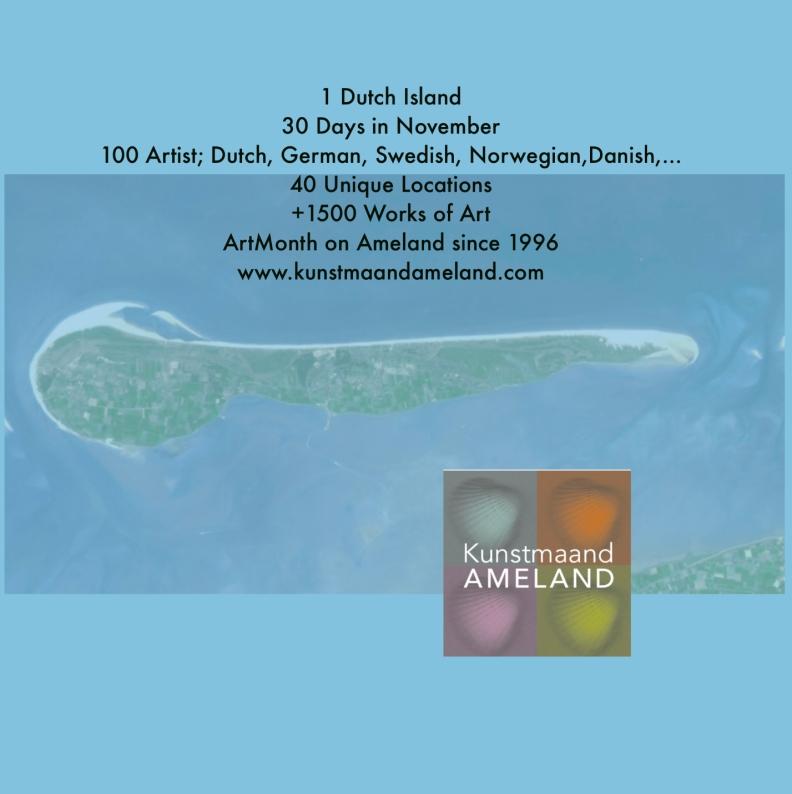 Kunstmaand Ameland Artistiek leider Annica Delfos Den Haag